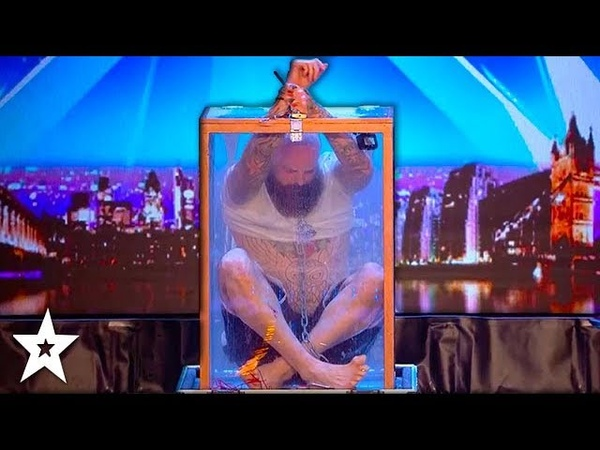DANGEROUS AUDITION Nearly Goes Wrong Will Matt Johnson Escape! Britains Got Talent 2018