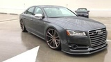 2015 Audi S8 Modified with first Hamana kit in the USA &amp Vossen Forged Wheels (4K)