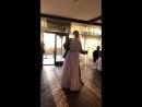 Первый танец молодых Аделины и Бориса Лыковых