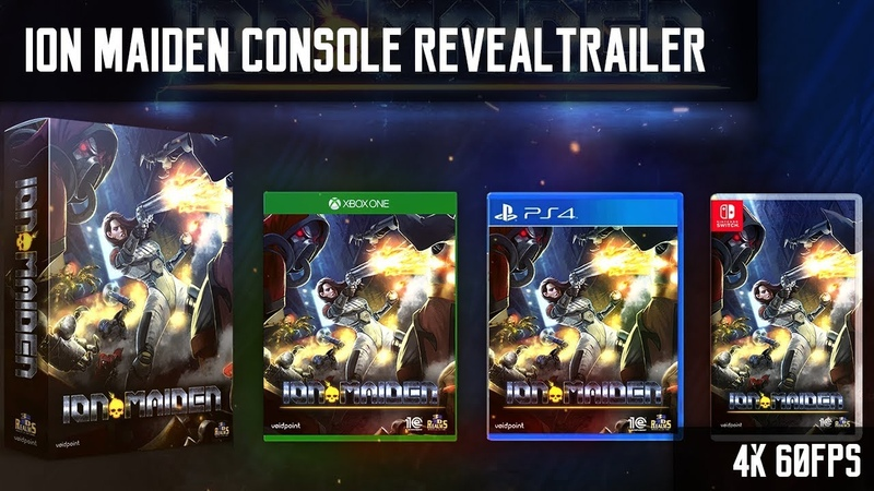 Ion Maiden - Trailer | PlayStation 4/Xbox One/Nintendo Switch.