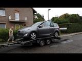 Отправка Renault Grand Scenic 1.5 dCi заказчику