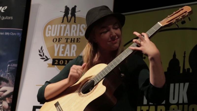 Acoustic Guitarist of the Year 2018 finalist Karlijn Langendijk
