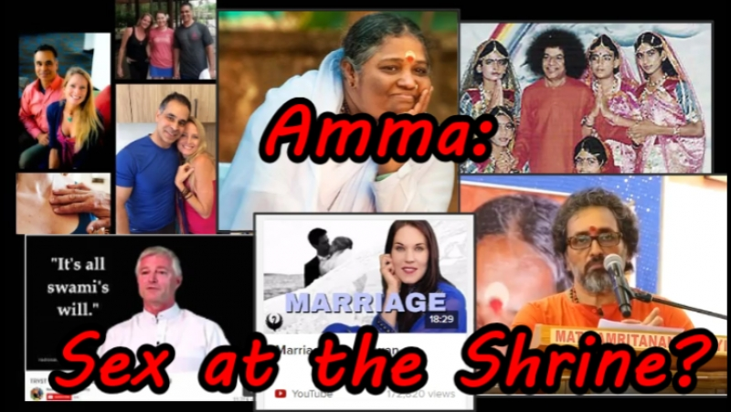 Amma - Sex at the Shrine? Hugging Saint - Sai Baba, Teal Swan, Mas Sajady, Derek O'Neill, Gail Thackray
