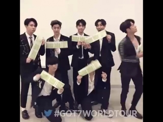 TIWTTER 180630 GOT7Official: GOT7 2018 WORLD TOUR EYES ON YOU IN JAKARTA