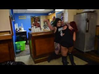 (05-27-2018) Veda Scott vs. Maria Manic vs. Harlow OHara - Triple Threat Hardcore Match - Innovative Pro - One In The Chamber (N