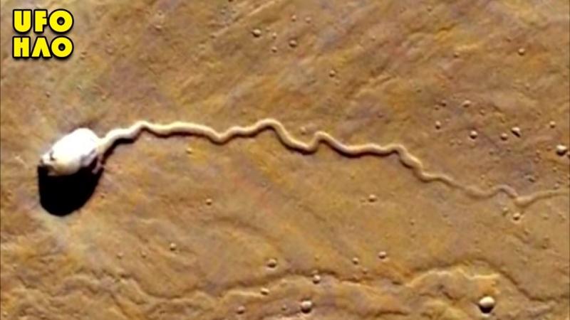 По Марсу ползает шестикилометровый монстр?