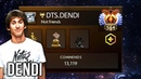Dendi Once A Legend Always A Legend Compilation with New Team Tag Highest Commends in Pro Dota 2