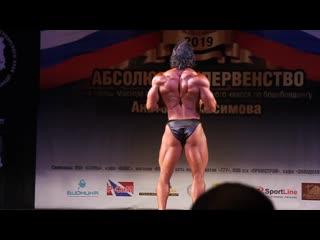 Выступление на чемпионате Сибирского федерального округа