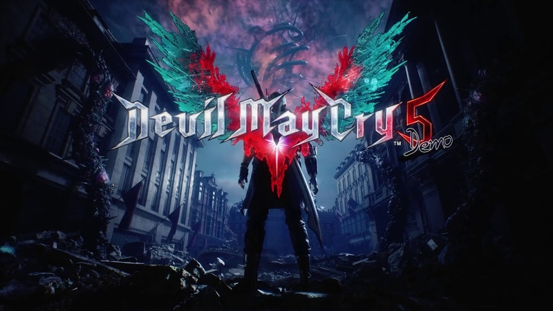 Devil May Cry 5 Demo - Main Menu [outdated]