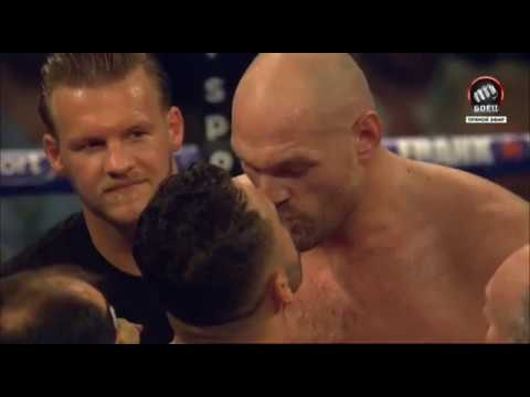 TYSON FURY vs SEFER SEFERI full fight and interview