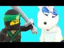 ИГРЫ Супер куб Играем в конструктор Лего Катаемся на паровозике и карусели Большой зайчик