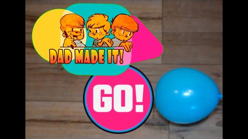 Реактивная машина своими руками: игрушка из воздушного шарика для ребёнка.