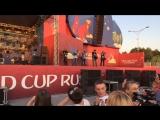 Фанзона г. Екатеринбург Матч: Россия - Испания