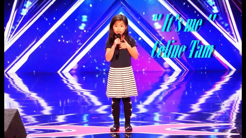 Celine Tam | My Heart Will Go On With Judges Comments | First AGT Performance