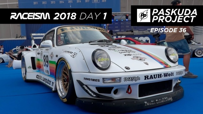RACEISM 2018 EP2. DAY 1. ГРАНИЦА ПЕРЕСЕЧЕНИЕ. PORSHE 911. RWB. KURWA. POLAND. PASKUDAPROJECT 36