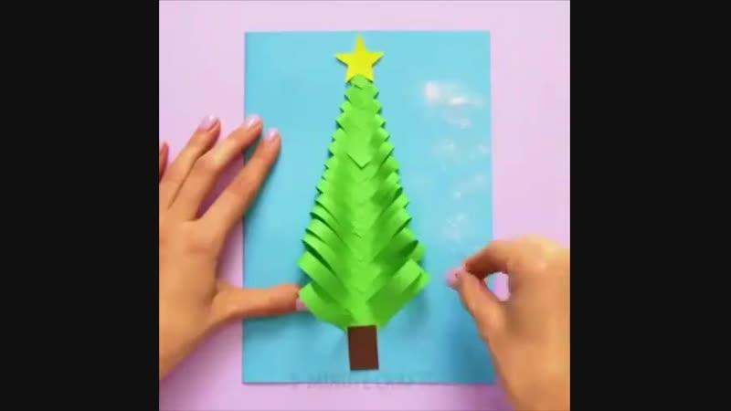 Несколько новогодних поделок, которые можно с детками сделать