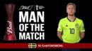 Emil FORSBERG Man of the Match MATCH 55