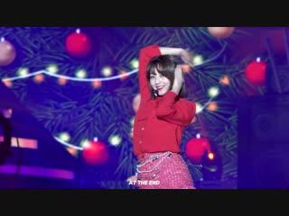 181225 TWICE - Dance break + Dance The Night Away @ SBS Gayo Daejun (Jihyo focus)