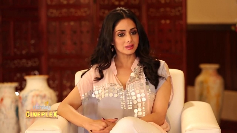 Sridevi talks to Atika Ahmad Farooqui on marriage kids 50 yrs in Bollywood