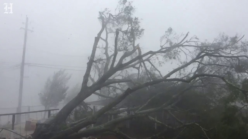 Vicious winds pound Panama City Beach as Hurricane Michael makes landfall