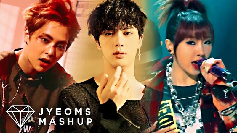 BTS, EXO, 2NE1 - FAKE LOVE/MONSTER/COME BACK HOME (MASHUP) [feat. EPIK HIGH LEE HI]