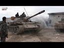 Syria Damascus steel cuts Eastern Ghouta Дамасская сталь рассекает Восточную Гуту