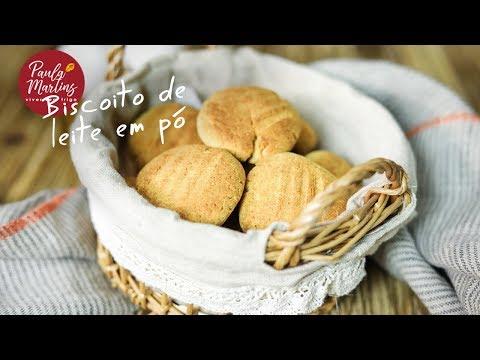 Biscoito de Leite em Pó Sem Glúten | Viver sem Trigo por Paula Martins