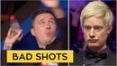 TOP 13 BAD SNOOKER SHOTS | World Championship 2019