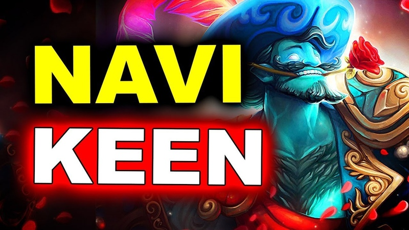 NAVI vs KEEN SEMI FINAL COMEBACK ESL ONE MUMBAI 2019 DOTA 2