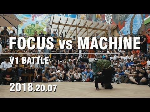 FOCUS vs MACHINE   BATTLE OF GODS   V1 BATTLE   SPB   20.07.18