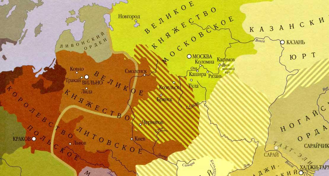Карта ВКЛ