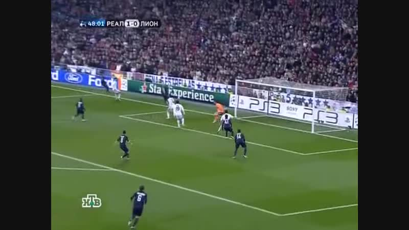 195 CL-2009/2010 Real Madrid - Olympique Lyon 1:1 (10.03.2010) HL