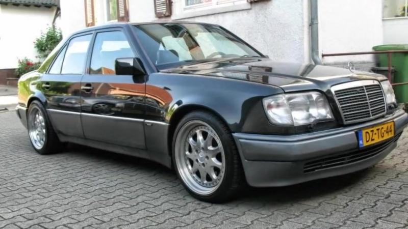 История Mercedes W124 ВОЛЧОК, Brabus 7.3л. V12 572л.с