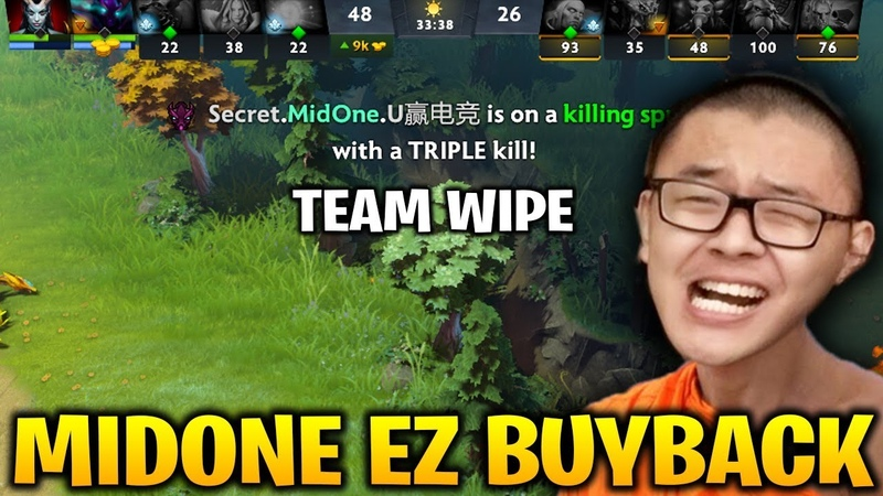 Midone Spectre - Buyback and Fast Team Wipe to Win