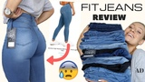 TESTING THE BEST FITTING &amp MOST FLATTERING JEANS! ARE THEY WORTH IT FITJEANS HAUL &amp REVIEW