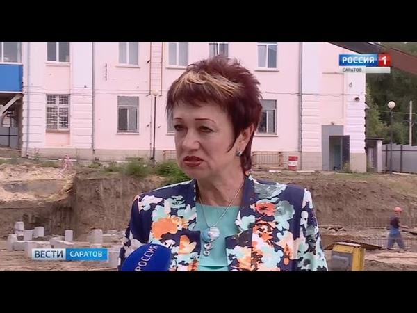 В посёлке Елшанка возводится пристройка к 89-й гимназии