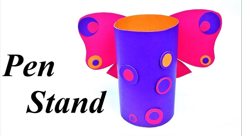 Easy Craft | How to make pen stand | Pen stand | Paper craft
