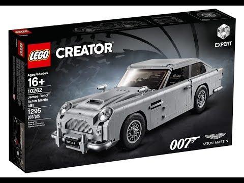 King News 47 ФОТО ОБЗОР НОВОГО НАБОРА LEGO CREATOR EXPERT 10262 ASTON MARTIN DB5