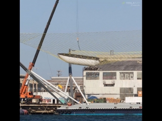 It certainly appears that Mr Stevens net is capable of receiving a fairing half. Getting closer than ever