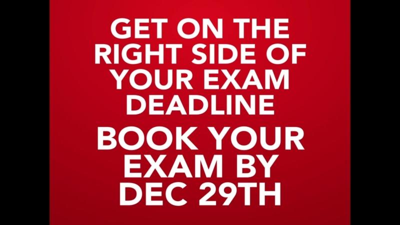 Exam Deadline