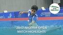 2017 Nigeria Open Highlights: Abdel-Aziz Youssef vs Jose Pedro Francisco (U21-Final)