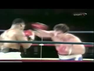 Лучшие бои Майка Тайсона - Майк Тайсон против Дон Халпин