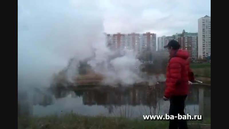 Дымовая шашка, факел дымовой белый ФДЧ(б)