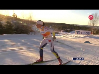 Womens 15 km skiathlon - Highlights - Lillehammer 2017