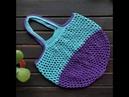 Mavis String Bag crochet tutorial