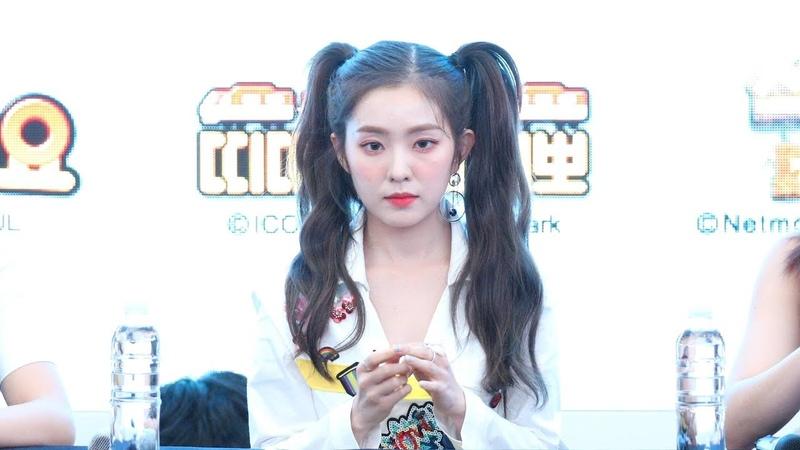 [4K] [180818] Red Velvet 레드벨벳 (아이린) Summer Magic 미니앨범 팬사인회 오프닝 (스타필드 고양) 직5289