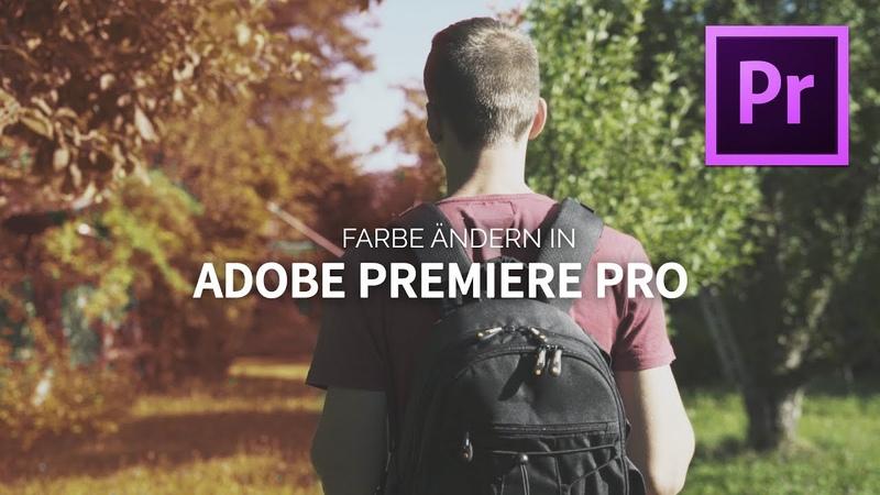 Laub Farbe verändern - Sommer zu Herbst - HSL Sekundär Farbkorrektur Adobe Premiere Pro | TUTORIAL