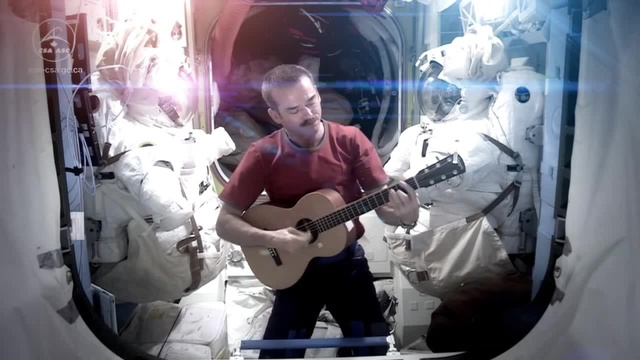 Space Guitar song by Chris Hadfield