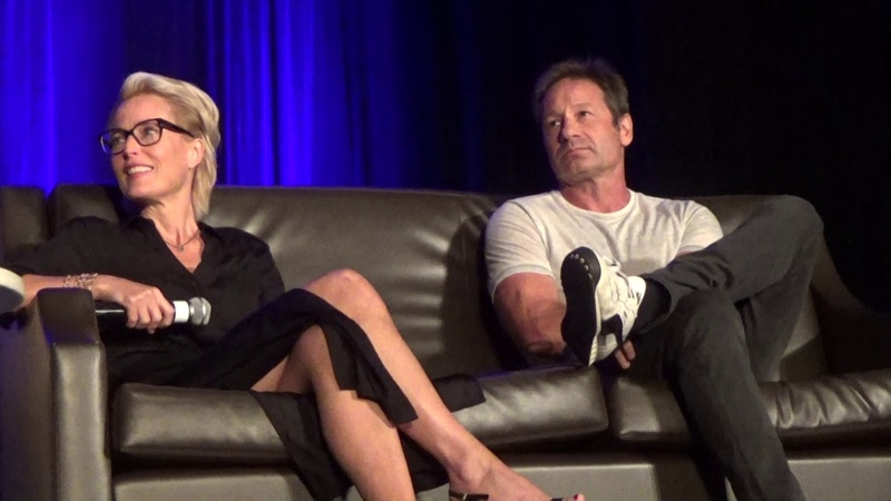 David Duchovny Gillian Anderson Wizard World 8 25 18 Part 1
