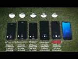 Mrwhosetheboss iPhone XS XS Max vs Galaxy Note 9 vs iPhone X Battery Life DRAIN TEST